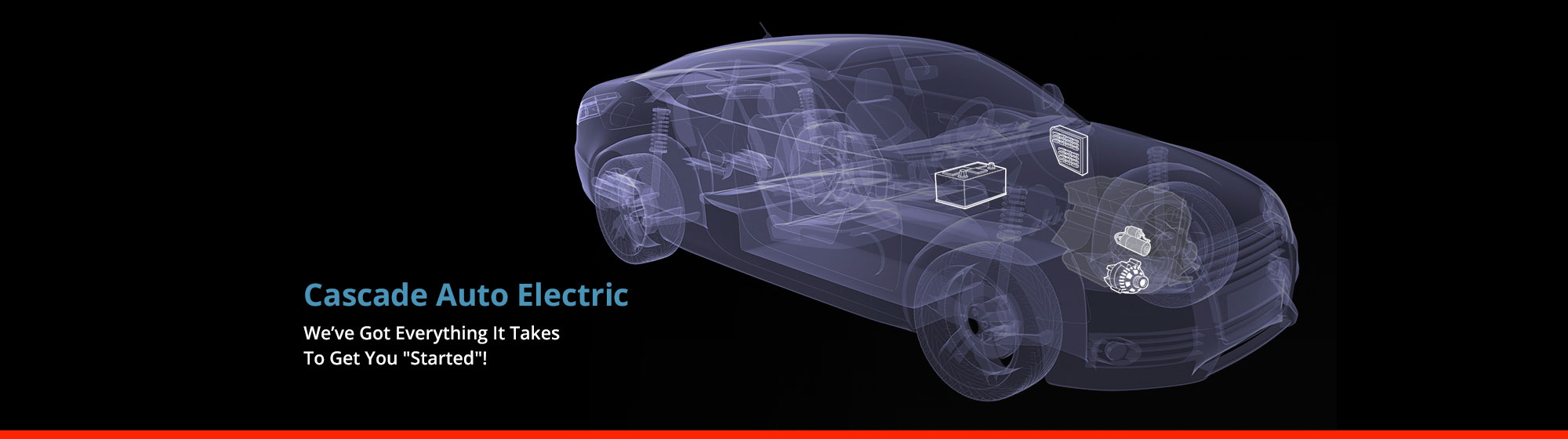 auto electric background